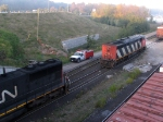 CN 2400 NOW DEAD ON THE TRACK