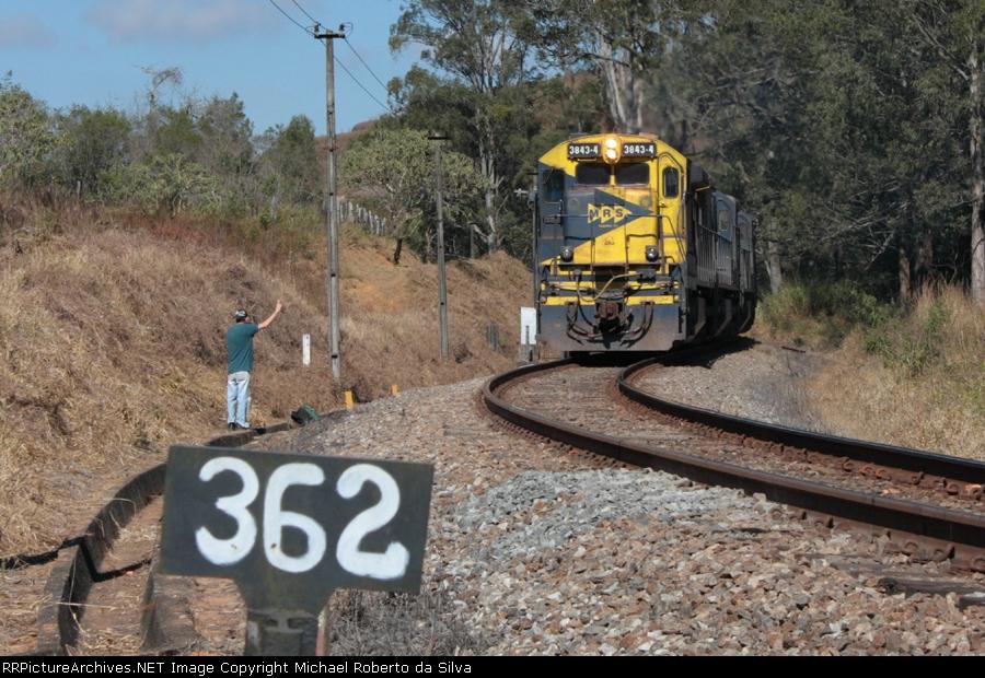 GE C36-7E # 3843