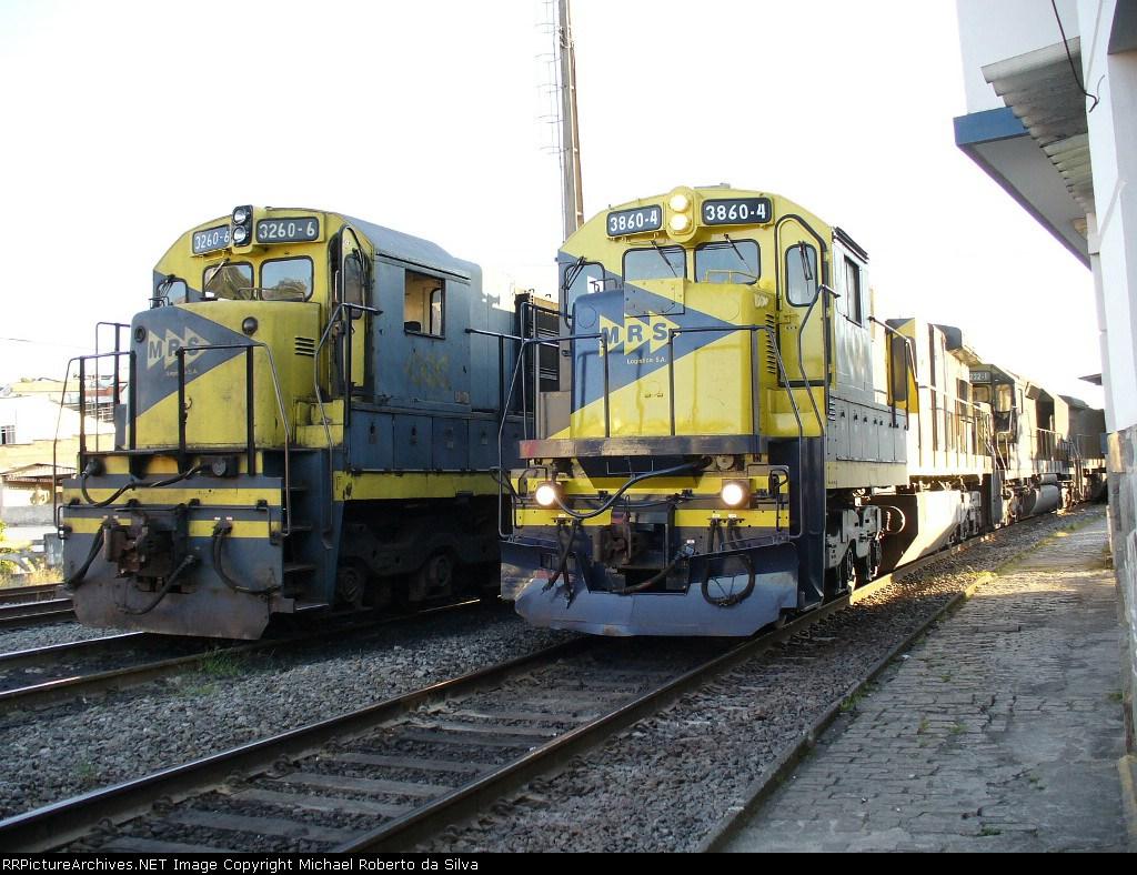 GE U23C#3260-6 - GE C36M#3860-4