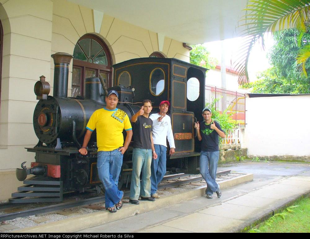 Membros do curso de Operador Ferroviario
