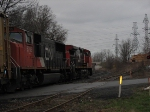 The CN SD75i # 5709 Trails