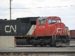 CN 5770 Awaits a Crew and Consist