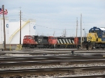 CN and CSX Power Await Work Orders