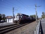 NJ Transit GP40PH-2B #4214 Non Revenue Move Train X232