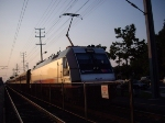 NJT 4620 in the sunset
