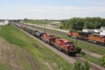 Westbound CPRS and eastbound BNSF