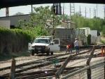 BNSF track crew