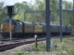 'Who put that bloody signal there?', aka 37606 tails 37602 on 1Z18, the 0858 Peterborough - Doncaster via King's Cross OHL test train.