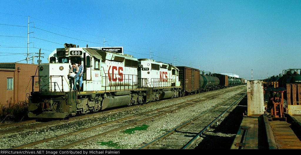 KCS Train 54