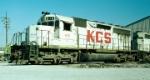 KCS SD40 615