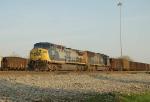 Coal Train awaiting its crew