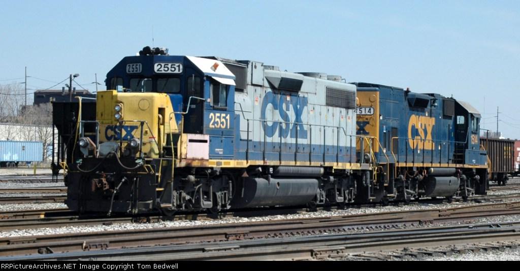 CSX 2551