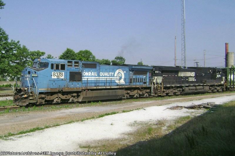 NS 8378 & NS 9576