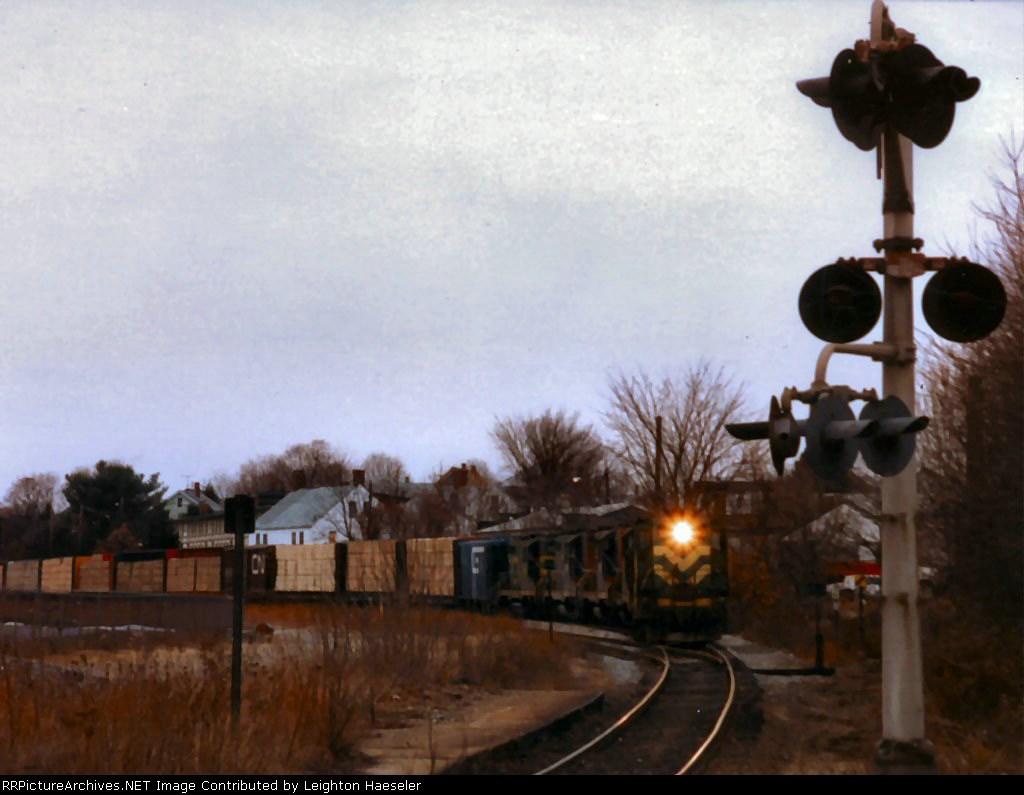 CV Train 554