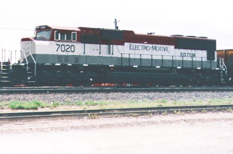 SD 70M 7020