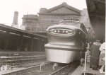 General Motors' Aerotrain demonstration at Union Station