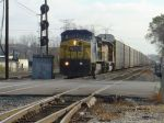 CSX auto rack train