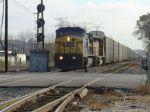 CSX auto rack train