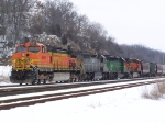 BNSF 4951 & Friends