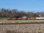 BNSF 5517, BNSF 4571 & UP 4877