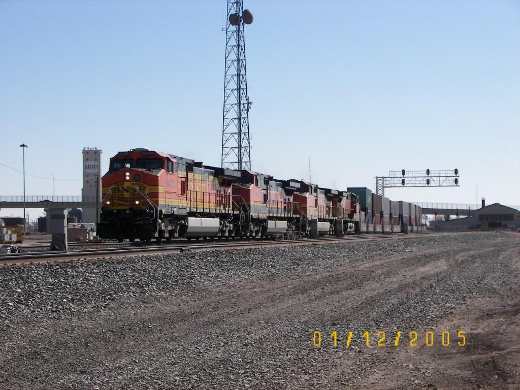 BNSF C44-9W 5438