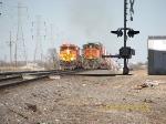 BNSF ES44DC 7720 & C44-9W 4182