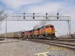 BNSF C44-9W 4884
