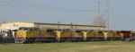 New Painted SD70s At Mid American Car
