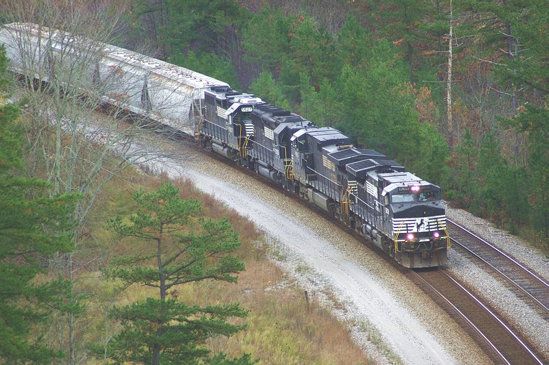 Here comes another freight