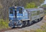 LC 96 leads excursion train cab end forward