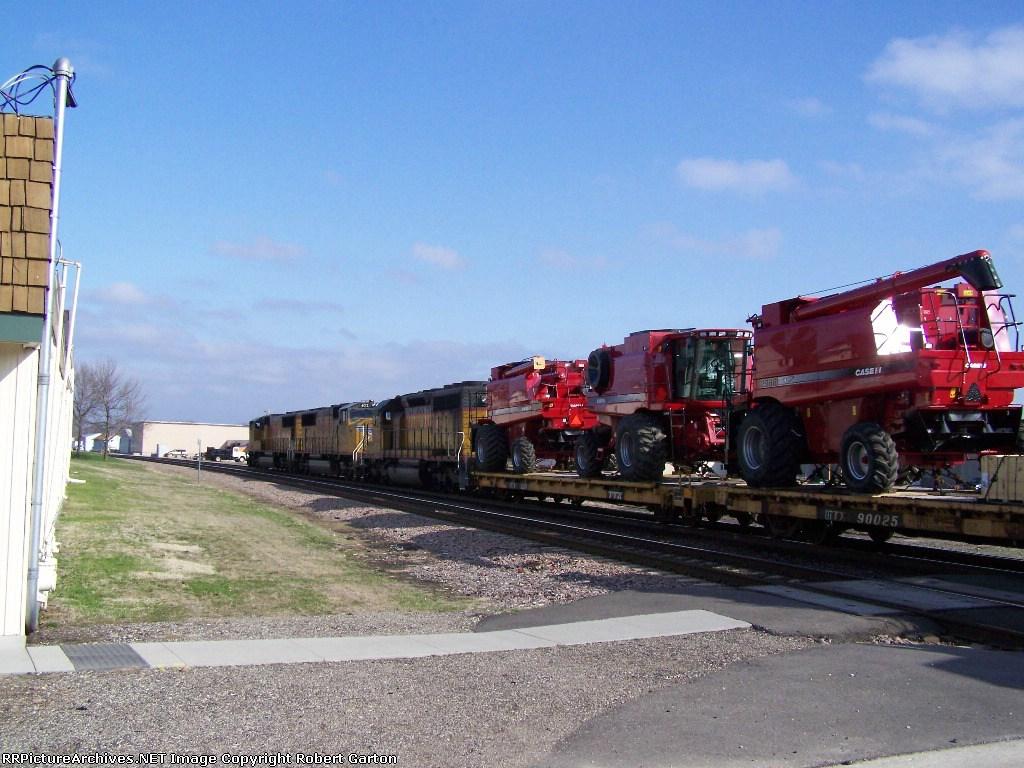 A Train of Case Combines Passes
