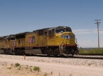 UP 3958 leads an EB intermodal at 12:22pm