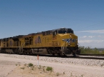 UP 5267 leads an EB intermodal at 12:43pm