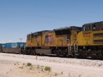 UP 4786 #3 power in an EB intermodal at 12:43pm