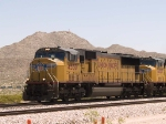 UP 4330 leads a WB intermodal at 12:32pm