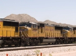 UP 4560 #3 power in a WB intermodal at 12:32pm