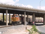 BNSF 5241 leads an EB grain train at 2:14pm