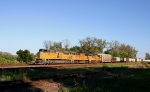 UP 8553   WB Freight on this Beautiful 62 degree October Day