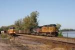 UP 7190 EB coal passes UP 7272