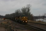 UP 6691 EB loaded coal with dirty UP 6691