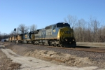 CSX 7353  EB tanker train. I think ethenal ?