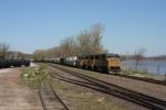KCS 4026 WB freight