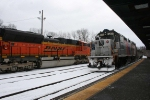 NJT meets BNSF at Campbell Hall, New York