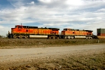BNSF 5043 and BNSF 4630