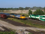 VIA 6424 & VIA 6400 TIM HORTON SPECIAL PASSING GO TRAIN