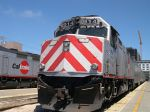 CalTrain EMD F40PH-2CAT 914 Leads A Northbound Train To Tamien, CA