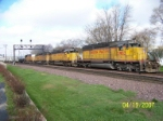 Eastbound with all EMD's.