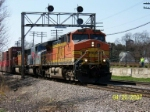 BNSF 4815 leads eastbound
