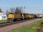 UP 9045 leads westbound