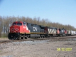 CN 2565 leads westbound at Wellsboro